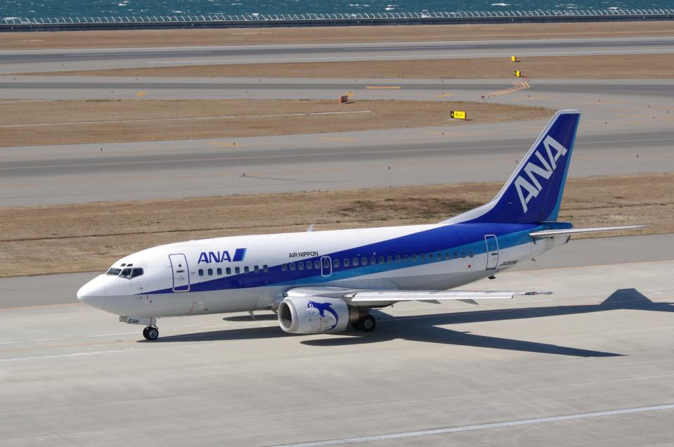 yabyanさんのエアーニッポン Boeing 737-500 (JA8596) 航空フォト