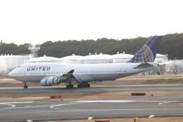 どりーむらいなーさんが、成田国際空港で撮影したユナイテッド航空 747-422の航空フォト(飛行機 写真・画像)