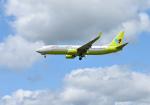 mojioさんが、成田国際空港で撮影したジンエアー 737-8SHの航空フォト(飛行機 写真・画像)