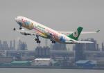 タミーさんが、羽田空港で撮影したエバー航空 A330-302Xの航空フォト(写真)
