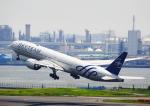 タミーさんが、羽田空港で撮影したガルーダ・インドネシア航空 777-3U3/ERの航空フォト(写真)