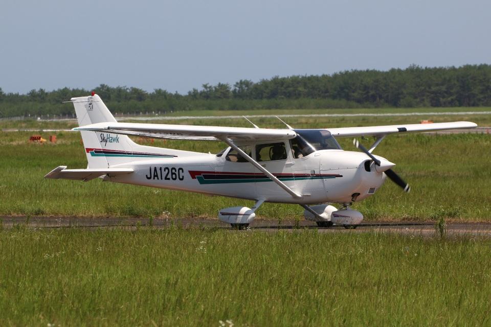 DONKEYさんの日本個人所有 Cessna 172 (JA126C) 航空フォト