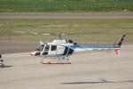 ATOMさんが、帯広空港で撮影した中日本航空 AS350B Ecureuilの航空フォト(写真)