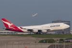 kosiさんが、羽田空港で撮影したカンタス航空 747-438の航空フォト(写真)