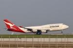 らいぬあーさんが、羽田空港で撮影したカンタス航空 747-438の航空フォト(写真)