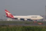 サリーちゃんのパパさんが、羽田空港で撮影したカンタス航空 747-438の航空フォト(写真)