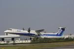 hiroki-JA8674さんが、伊丹空港で撮影したANAウイングス DHC-8-402Q Dash 8の航空フォト(飛行機 写真・画像)