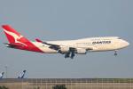 Orcaさんが、羽田空港で撮影したカンタス航空 747-438の航空フォト(写真)