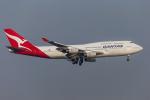mameshibaさんが、羽田空港で撮影したカンタス航空 747-438の航空フォト(写真)