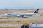 m-takagiさんが、関西国際空港で撮影したルフトハンザドイツ航空 A340-642Xの航空フォト(写真)