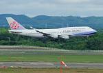 じーく。さんが、新千歳空港で撮影したチャイナエアライン 747-409の航空フォト(飛行機 写真・画像)