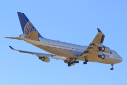 StarMarineさんが、成田国際空港で撮影したユナイテッド航空 747-422の航空フォト(飛行機 写真・画像)