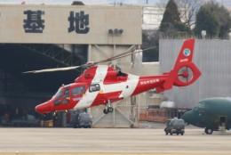青春の1ページさんが、名古屋飛行場で撮影した浜松市消防航空隊 AS365N3 Dauphin 2の航空フォト(飛行機 写真・画像)