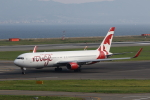 MOHICANさんが、関西国際空港で撮影したエア・カナダ・ルージュ 767-33A/ERの航空フォト(写真)