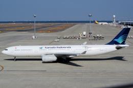 yabyanさんが、中部国際空港で撮影したガルーダ・インドネシア航空 A330-341の航空フォト(飛行機 写真・画像)