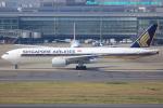 いおりさんが、羽田空港で撮影したシンガポール航空 777-212/ERの航空フォト(写真)