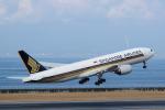 yabyanさんが、中部国際空港で撮影したシンガポール航空 777-212/ERの航空フォト(写真)
