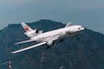 香港啓徳空港で撮影された日本航空 - Japan Airlines [JL/JAL]の航空機写真