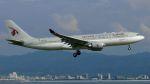 Chikaの航空見聞録さんが、関西国際空港で撮影したカタール航空 A330-202の航空フォト(写真)