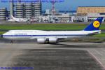 Chofu Spotter Ariaさんが、羽田空港で撮影したルフトハンザドイツ航空 747-830の航空フォト(写真)