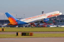 安芸あすかさんが、マンチェスター空港で撮影したジェット・ツー 757-236の航空フォト(飛行機 写真・画像)