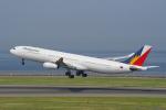 yabyanさんが、中部国際空港で撮影したフィリピン航空 A340-313Xの航空フォト(飛行機 写真・画像)
