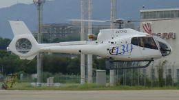 cathay451さんが、伊丹空港で撮影したユーロコプタージャパン EC130B4の航空フォト(飛行機 写真・画像)
