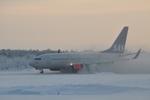 Peamanさんが、キルナ空港で撮影したスカンジナビア航空 737-783の航空フォト(写真)