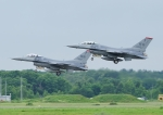 じーく。さんが、千歳基地で撮影したアメリカ空軍 F-16CM-50-CF Fighting Falconの航空フォト(飛行機 写真・画像)