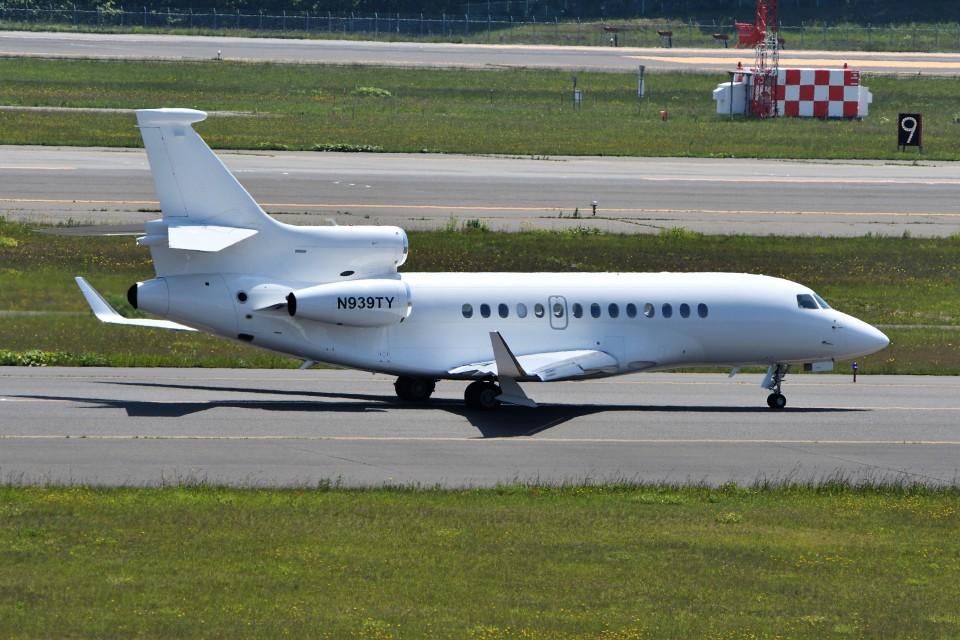 T.Sazenさんのウィルミントン・トラスト・カンパニー Dassault Falcon 7X (N939TY) 航空フォト