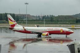 xingyeさんが、鄭州新鄭国際空港で撮影した雲南祥鵬航空 737-84Pの航空フォト(飛行機 写真・画像)