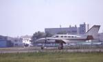 kumagorouさんが、仙台空港で撮影した日本フライングサービス 425 Conquest Iの航空フォト(飛行機 写真・画像)
