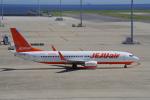 yabyanさんが、中部国際空港で撮影したチェジュ航空 737-8ASの航空フォト(飛行機 写真・画像)