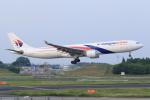 多楽さんが、成田国際空港で撮影したマレーシア航空 A330-323Xの航空フォト(写真)