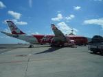 toyokoさんが、デンパサール国際空港で撮影したインドネシア・エアアジア・エックス A330-343Xの航空フォト(写真)