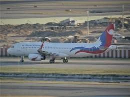 toyokoさんが、スワンナプーム国際空港で撮影したネパール航空 A320-233の航空フォト(飛行機 写真・画像)