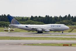 どりーむらいなーさんが、成田国際空港で撮影したユナイテッド航空 747-451の航空フォト(飛行機 写真・画像)