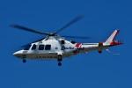 Dojalanaさんが、函館空港で撮影した鹿児島国際航空 AW109SPの航空フォト(飛行機 写真・画像)