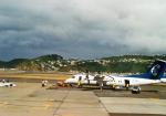 Wasawasa-isaoさんが、ウェリントン国際空港で撮影したエア・ニュージーランド・リンク DHC-8-300 Dash 8の航空フォト(写真)