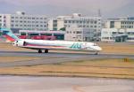 Wasawasa-isaoさんが、名古屋飛行場で撮影した日本エアシステム MD-90-30の航空フォト(写真)