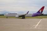 北の熊さんが、新千歳空港で撮影したハワイアン航空 767-3CB/ERの航空フォト(写真)
