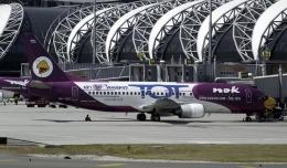 planetさんが、スワンナプーム国際空港で撮影したノックエア 737-4D7の航空フォト(飛行機 写真・画像)