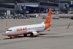 yabyanさんが、中部国際空港で撮影したチェジュ航空 737-86Nの航空フォト(飛行機 写真・画像)