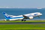delawakaさんが、羽田空港で撮影した全日空 787-8 Dreamlinerの航空フォト(写真)