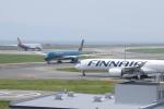 SKYLINEさんが、関西国際空港で撮影したフィンエアー A350-941XWBの航空フォト(飛行機 写真・画像)
