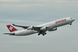 miffyさんが、成田国際空港で撮影したスイスインターナショナルエアラインズ A340-313Xの航空フォト(写真)