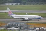 meijeanさんが、成田国際空港で撮影したチャイナエアライン 737-8Q8の航空フォト(写真)