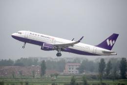 xingyeさんが、鄭州新鄭国際空港で撮影した西部航空 A320-216の航空フォト(飛行機 写真・画像)