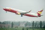 xingyeさんが、鄭州新鄭国際空港で撮影した雲南祥鵬航空 737-808の航空フォト(飛行機 写真・画像)