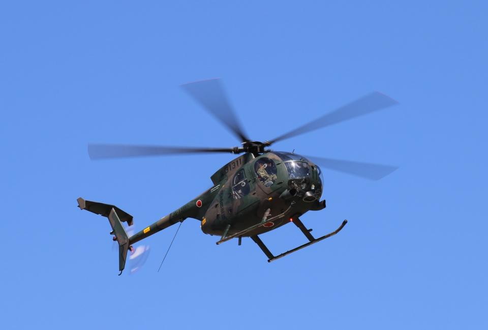 碇シンジさんの陸上自衛隊 Kawasaki OH-6D (31311) 航空フォト
